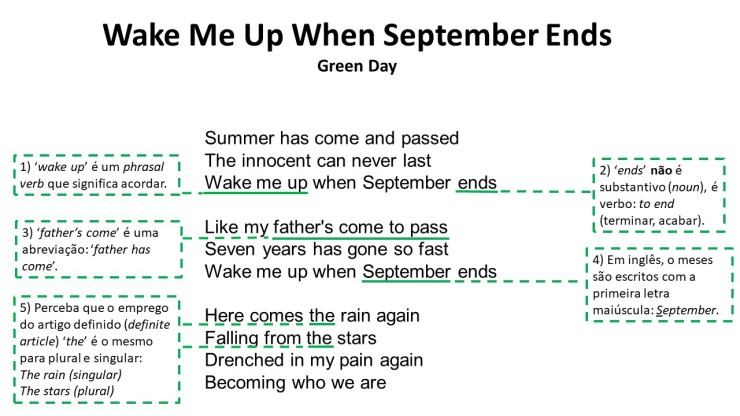 Wake Me Up When September Ends 1