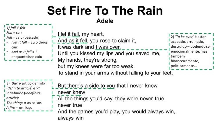 Set Fire To The Rain1