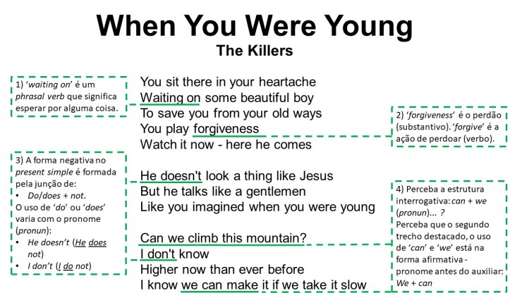 When You Were Young1