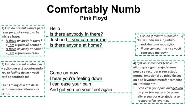 Comfortably Numb1